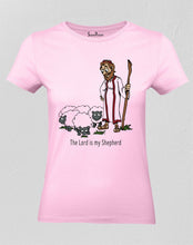 Christian Women T Shirt Lord Is My Shepherd