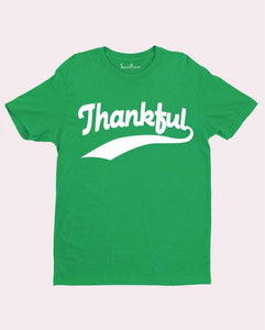 Thankful Praising Soul singing Christian T shirt