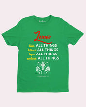 Love All Things Religious Christian T Shirt