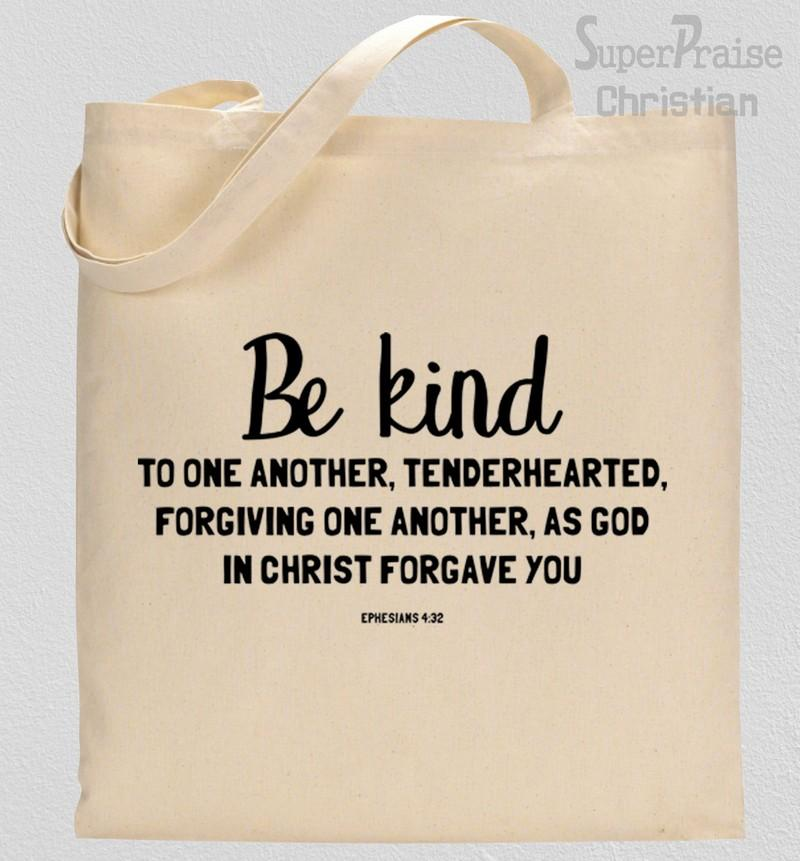 Be Kind Quotes Tote Bag