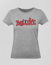 Believe Cross Women T Shirt