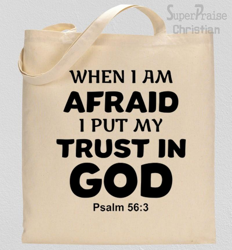 Bible verses about trusting god Tote Bag