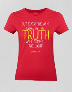 Christian Women T shirt TRUTH Ladies tee