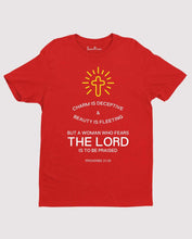 Who Fears the Lord Jesus Faith Grace Christian T shirt