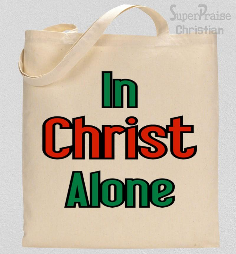 Christ Alone Tote Bag