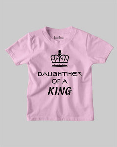 Daughter of a King Kids T shirt