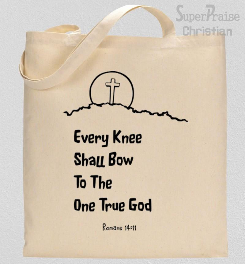 Everyone who calls on the name of the Lord Tote Bag