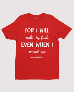 Christian Bible Verse T Shirt for I Will Inspirational