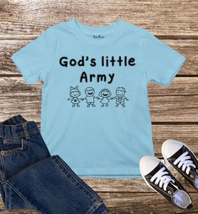God's Little Army Kids T Shirt