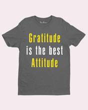 Gratitude Is The Best Attitude Jesus Christian T Shirt