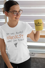 Christian Women T Shirt Harvest Your Plant Ladies tee