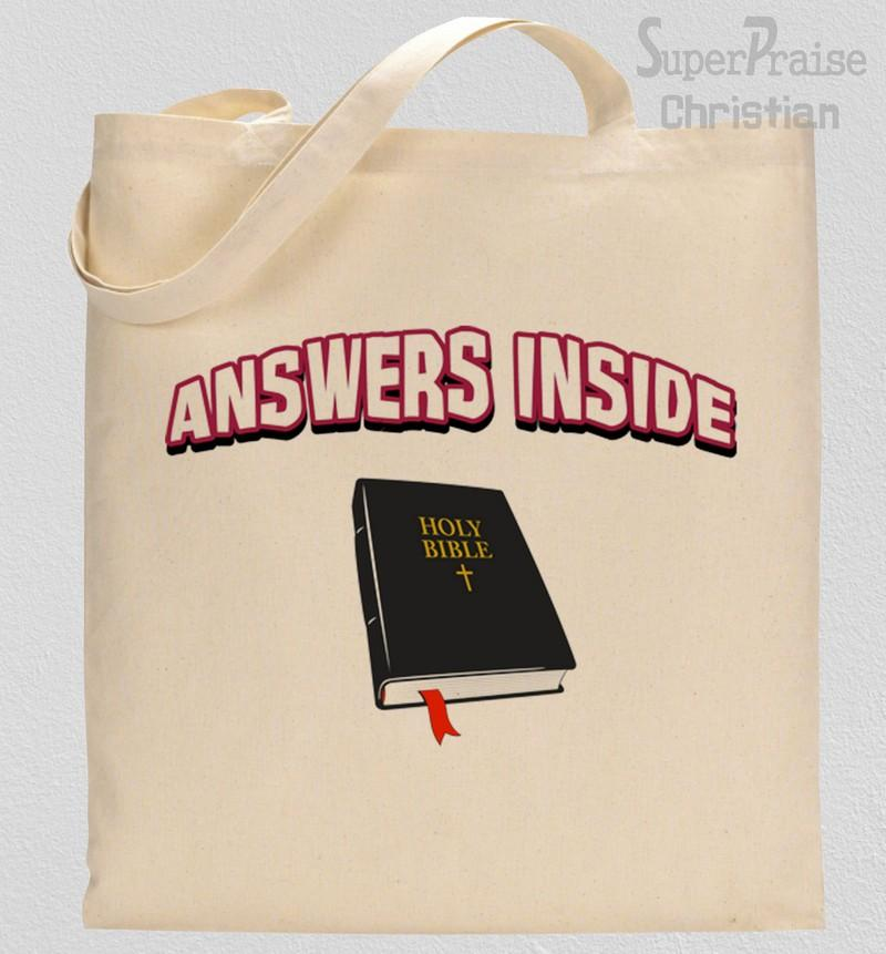 Holy Bible Tote Bag