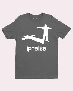 I Praise Worship Thankful Lifting up Christian T shirt