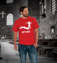 I Praise Worship Thankful Lifting up Christian T shirt -Super Praise Christian