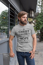In Christ Alone My Hope Is Found Christian T Shirt - SuperPraiseChristian
