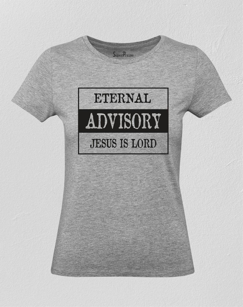 Jesus Is Lord Christian Women T Shirt