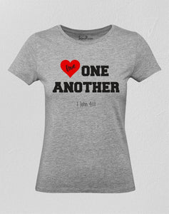 Jesus Love One Another Women T Shirt