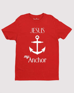 Jesus my Anchor Bible Verse T shirt