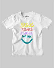 Jesus Painting Kids T Shirt