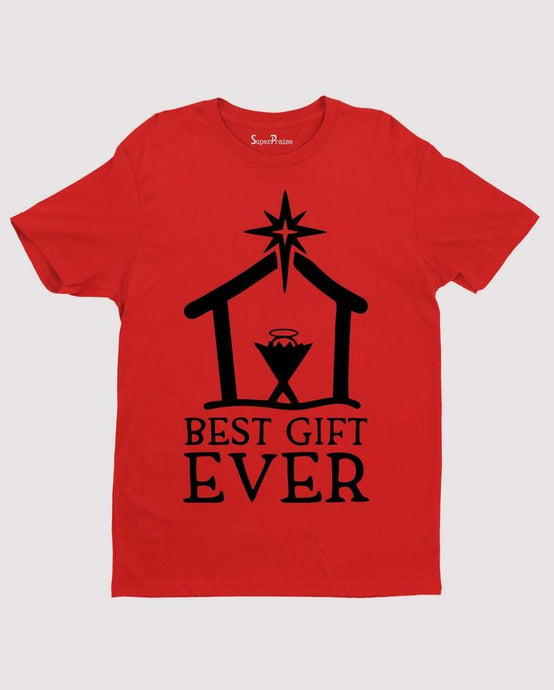 Best Gift Ever Jesus Christmas T Shirt Nativity Christian
