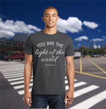 Light of the World Scripture Bible Verse Christian T Shirt - SuperPraiseChristian