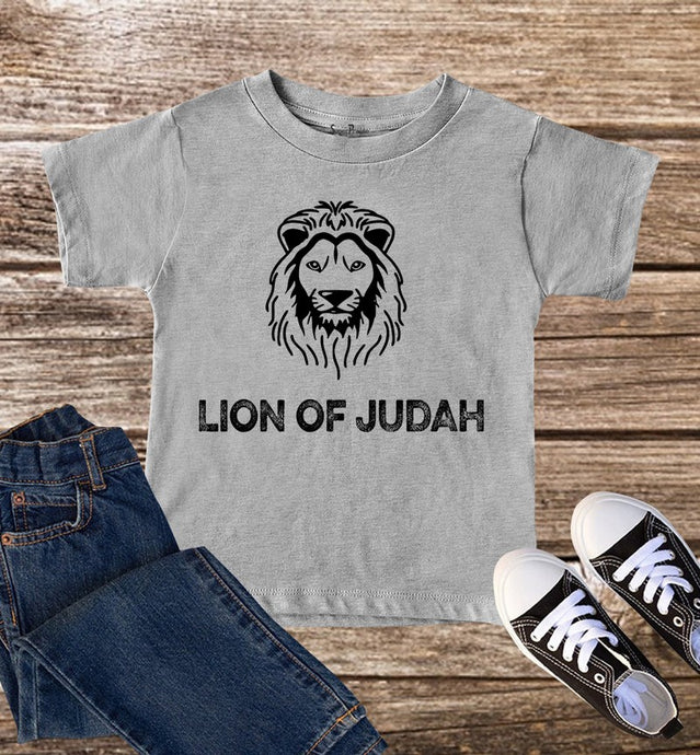 Lion Of Judah Kids T Shirt