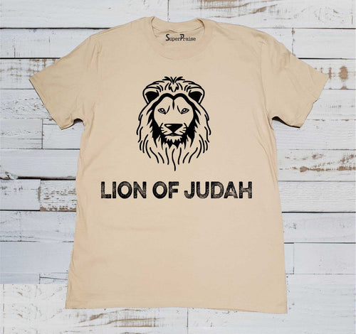 Lion of Judah Scripture T Shirt