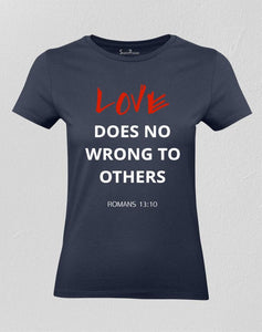 Love Does No Wrong Others Women T shirt