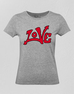 Love Graffiti Women T Shirt