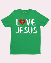 Love Jesus Cross Symbol T Shirt