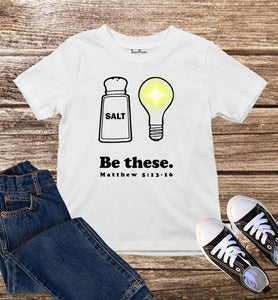 Matthew Salt And Light Kids T Shirt