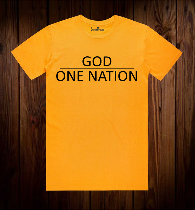 One Nation Under God Christian T Shirt