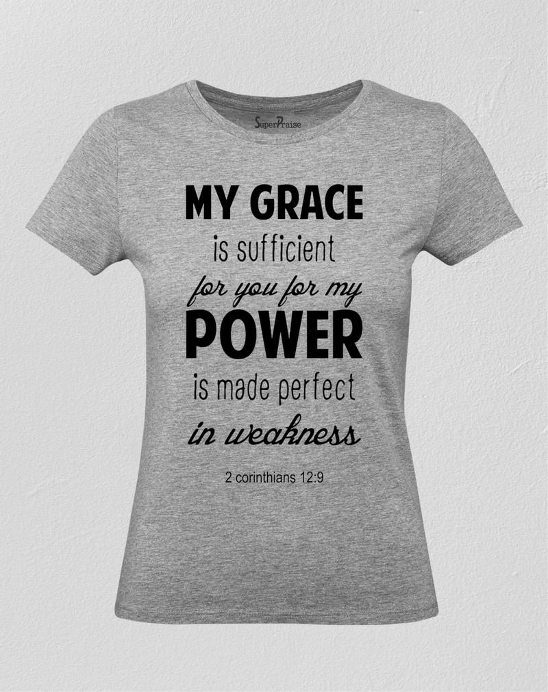 Power Is Made Perfect In Weakness Women T Shirt