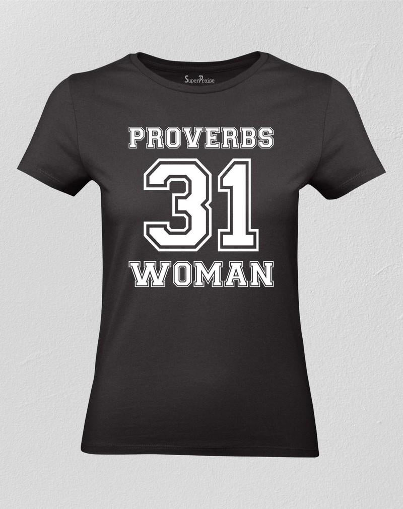 Proverbs 31 Woman t shirt Christian Tshirt Bible Teachings Worship God