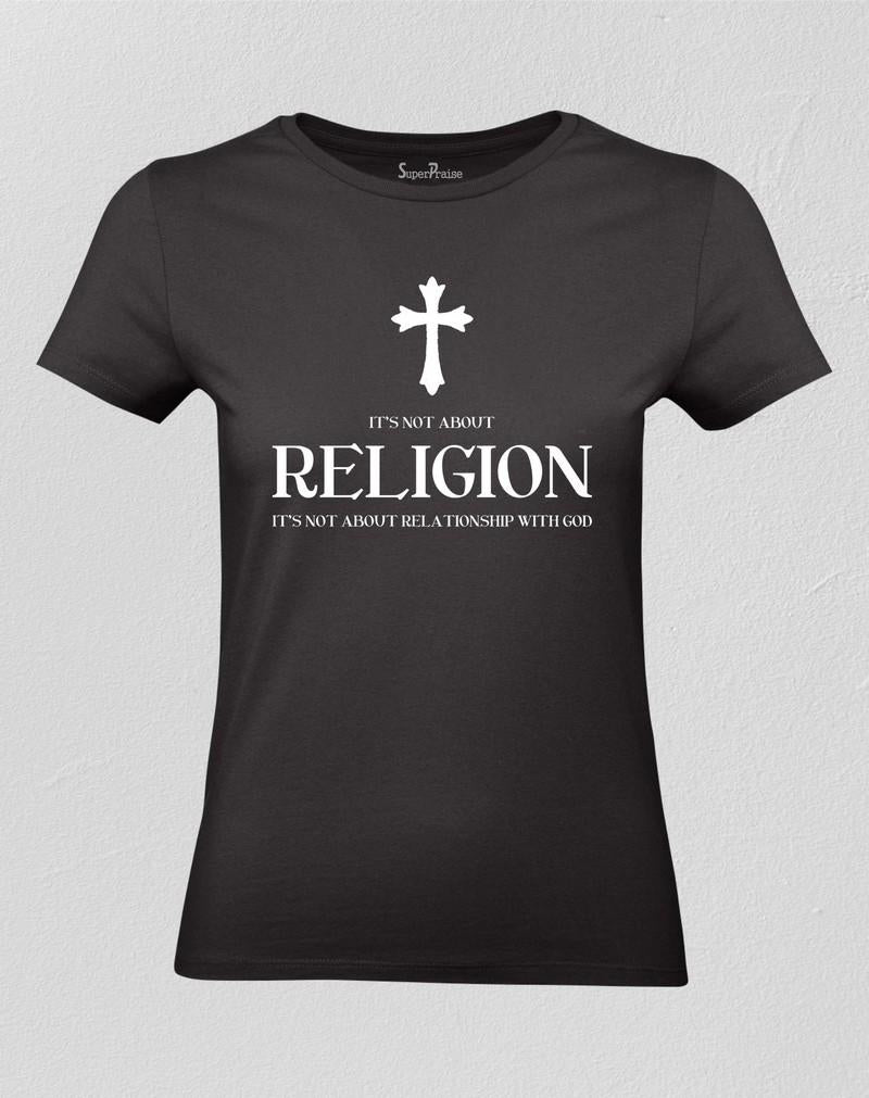 Religion Christian Women T shirt