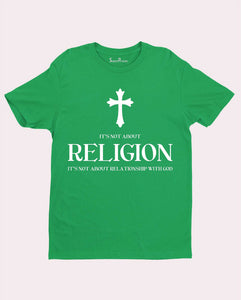 Religion Cross Worship Spiritually Faith Christian T Shirt