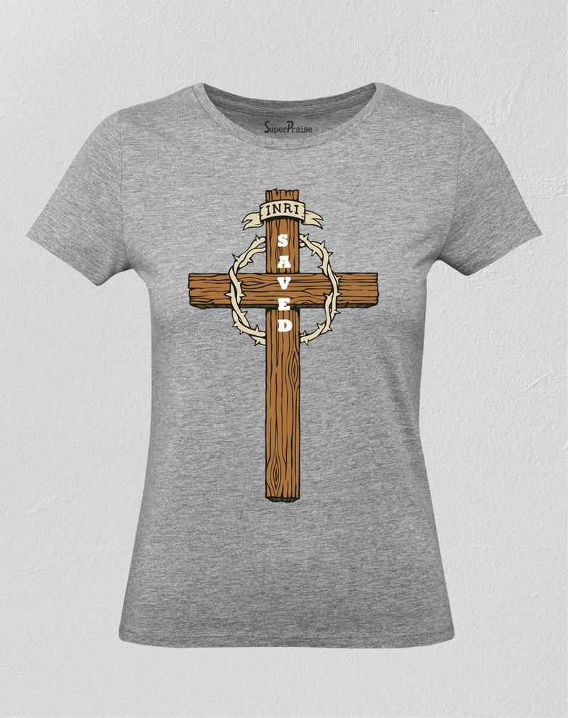 Saved INRI Women T Shirt
