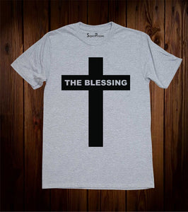 The Blessing T Shirts Jesus Cross Christian Shirts Faith Bible Verse Tee