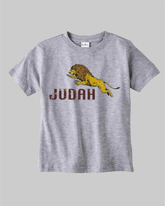 The Lion of Judah Kids T Shirt