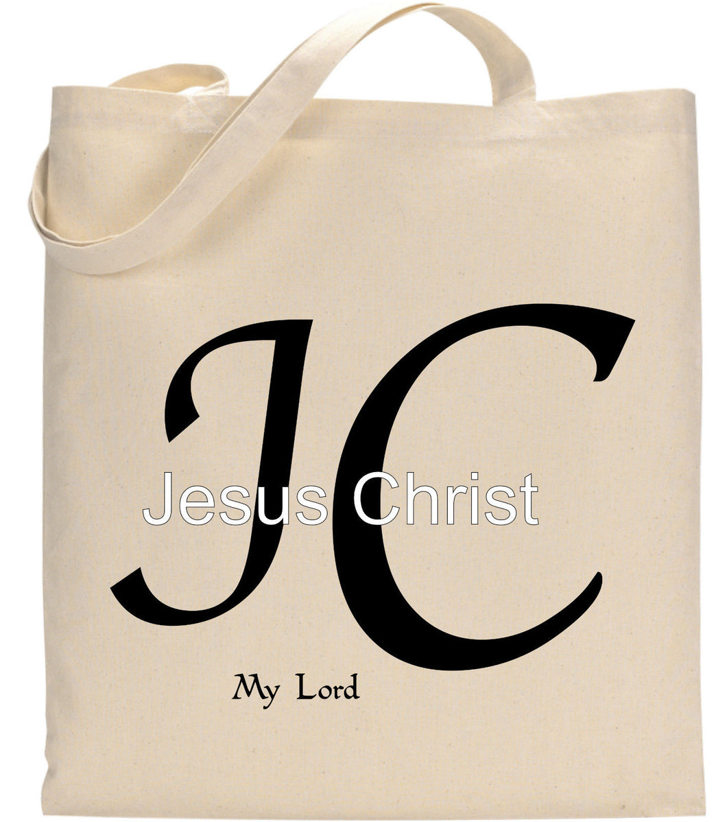 Jesus Christ My Lord JC Christian TOte Bag