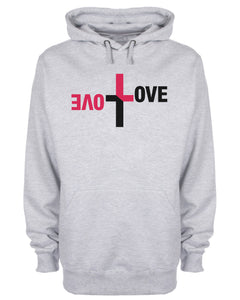 Love Equation Cross Hoodie Christian Sweatshirt