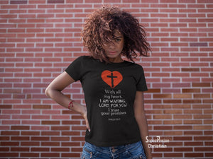 Christian Women T shirt Your Promises Hope