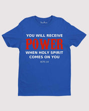 Christian Faith Men Spiritual Jesus Prayer T Shirt Holy Spirit