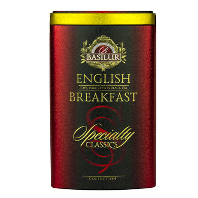 Basilur English Breakfast Tea Caddy, Ceylon Tea Store, Ceylon Tea