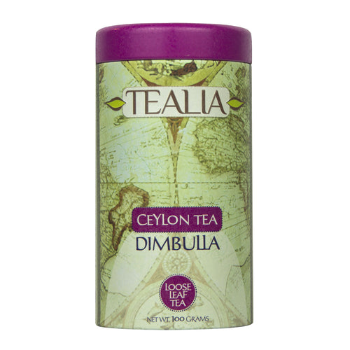 Tealia Dimbulla Loose Leaf Tea Caddy 100g