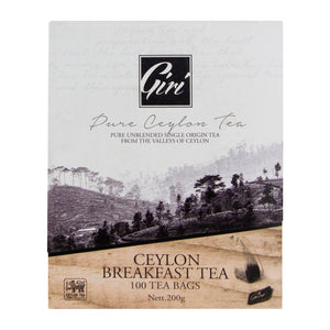 Giri Ceylon Breakfast Tea 100 bag | Ceylon Tea Store