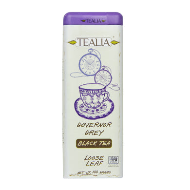 Tealia Governor Grey Loose Leaf Caddy 100g