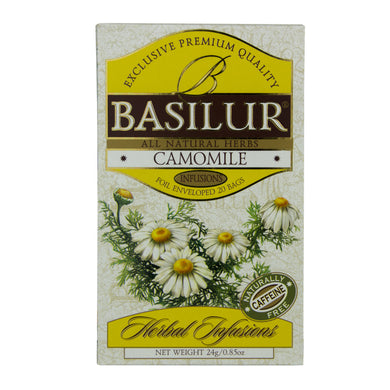 Basilur Herbal Camomile, Ceylon Tea Store