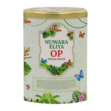 Halpe Nuwara Eliya OP Loose Leaf Tea 100g Caddy | Ceylon Tea Store