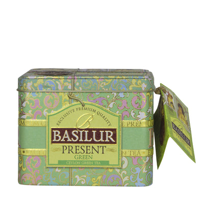 Basilur Present Green Tea Caddy, Ceylon Tea Store, Ceylon Tea